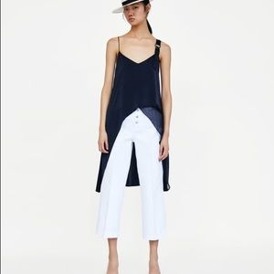 Zara Asymmetric Combined Top size small